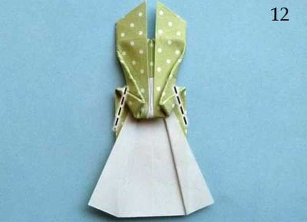 Оригами открытка на 8 марта складывается