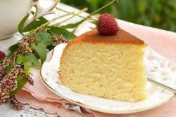 Kek Span Dengan Susu Pekat