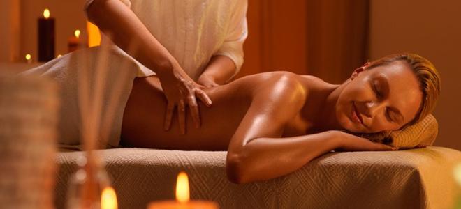 masaža, zatim seks
