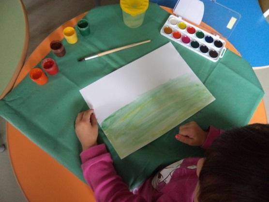 Lukisan Musim Luruh Untuk Tadika
